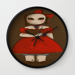 The Adventure of the Yellow Face Wall Clock