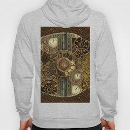 Steampunk, awesome clocks Hoody