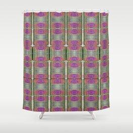 Digital Printed Yarn Textures Shower Curtain