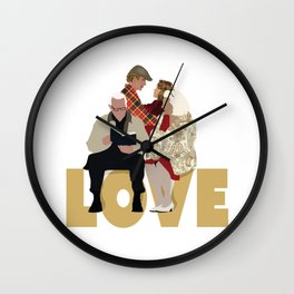 The Notebook Wall Clock