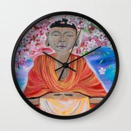 Awaiting Peace Wall Clock