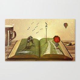 story Canvas Print