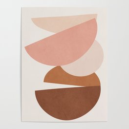 Abstract Stack II Poster