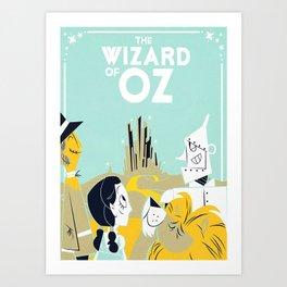 Oz Film Art Print