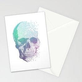 Melodic Skull Stationery Cards