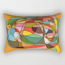 open mind Rectangular Pillow