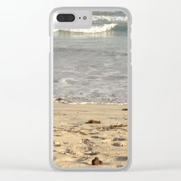 seashore Clear iPhone Case