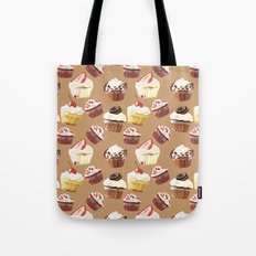 Cup cakes patterns Tote Bag