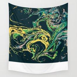 Swirling World V.1 Wall Tapestry