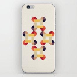 'round and 'round iPhone Skin