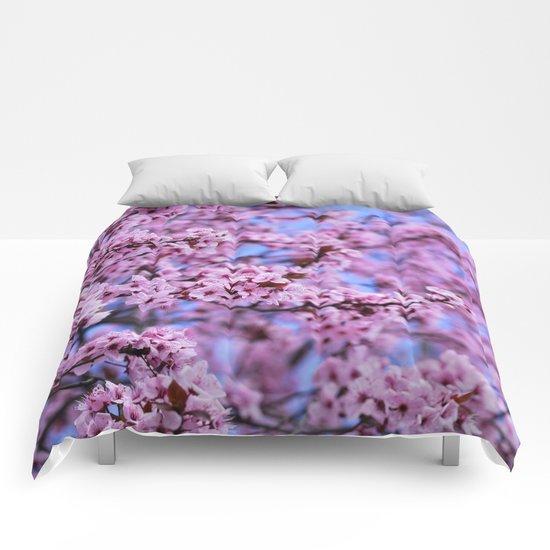 """Pink world"" Comforters"