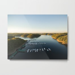 Left or Right Metal Print