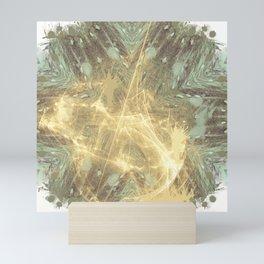Kaos theory mandala Mini Art Print