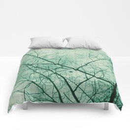 Tree In Green Comforters