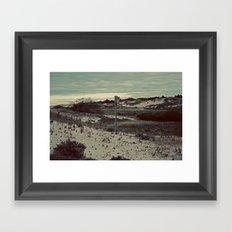 Nautica: Home is Where the Dune Is Framed Art Print