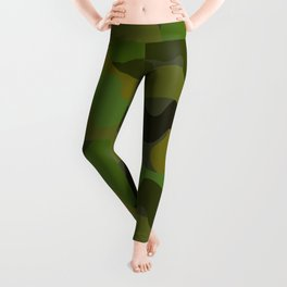 Colorful Camouflage Pattern Leggings