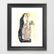 Hand to Home Framed Art Print