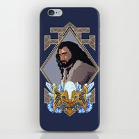 thorin iPhone & iPod Skins featuring Thorin  by Inkforwords