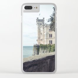 Ancient castle Clear iPhone Case