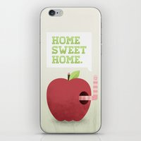 home sweet home iPhone & iPod Skins featuring Home Sweet Home by Chase Kunz