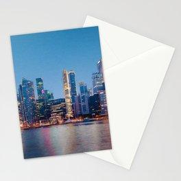 Singapore Skyline Stationery Cards