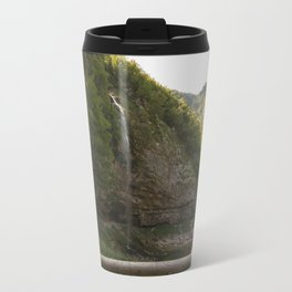 A small waterfall in the mountains #2 Travel Mug