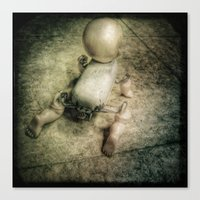 doll Canvas Prints featuring Doll by Jean-François Dupuis