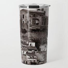 """Urban Landscape of Sicily """"VACANCY"""" zine Travel Mug"""