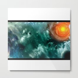 Conquest of Space Metal Print