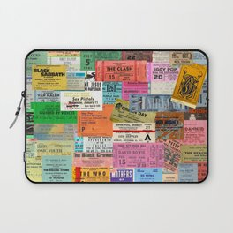 I miss concerts - ticket stubs Laptop Sleeve