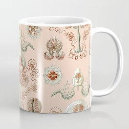 Ernst Haeckel - Jellyfish Scientific Illustration Coffee Mug