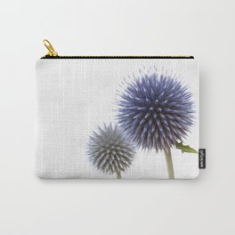 Echinops - Globe Thistles #1 #decor #art #society6 Carry-All Pouch