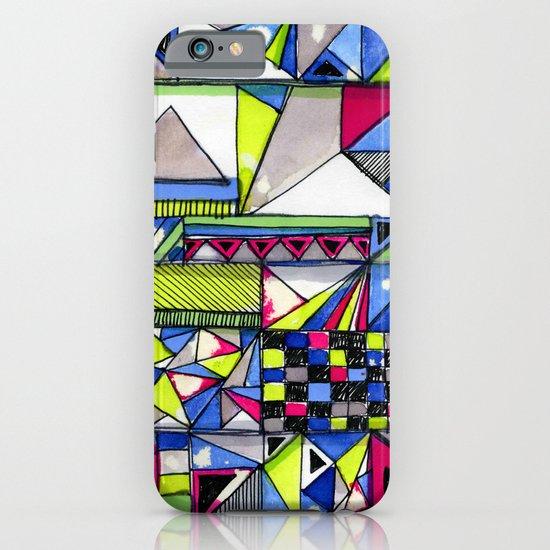 Neon Textures iPhone & iPod Case