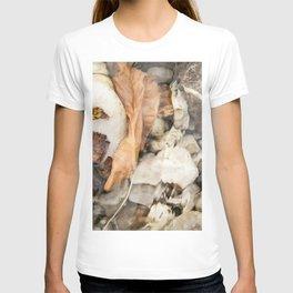 Underwater leaf T-shirt