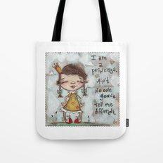 I Am a Princess - by Diane Duda Tote Bag