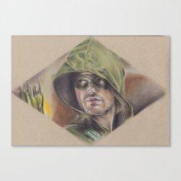 The Arrow, the vigilante Canvas Print