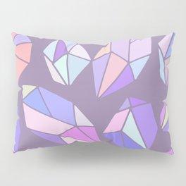 purple pink gem pattern Pillow Sham