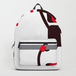 Hanging Robot Backpack