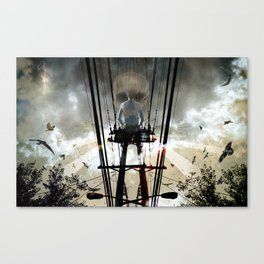 Face the Day Canvas Print