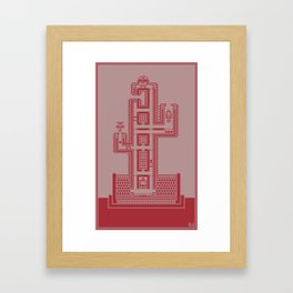 Planticular Robotic 2.0 Framed Art Print