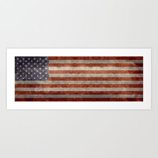 USA Flag Banner - Imagine this by brucestanfield