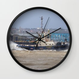 CMS Warrior Tug Wall Clock