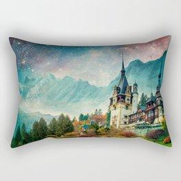 Faerytale Castle Rectangular Pillow