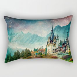 Faerytale Castle Rectangular Pillow