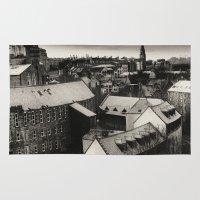 edinburgh Area & Throw Rugs featuring Edinburgh by Carlos Sanchez
