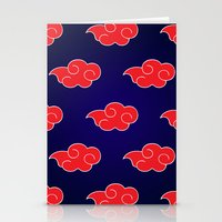 suit Stationery Cards featuring Akatsuki Suit by bimorecreative