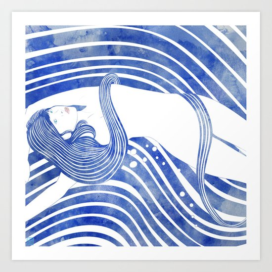 Water Nymph LXI Art Print