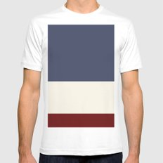 Comp MEDIUM White Mens Fitted Tee