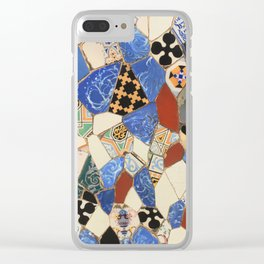 Mosaic decoration Clear iPhone Case