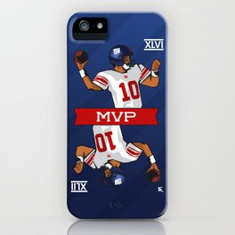 Eli - the SuperBowl MVP iPhone Case